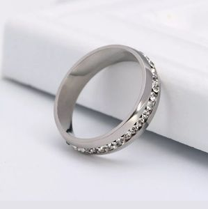 Other - Stainless Steel Engagement Band Ring Size 6